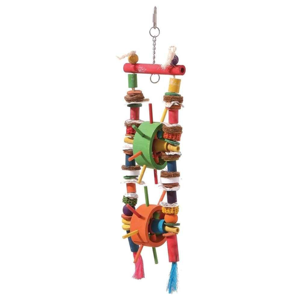 Double Parrot Mill Toy