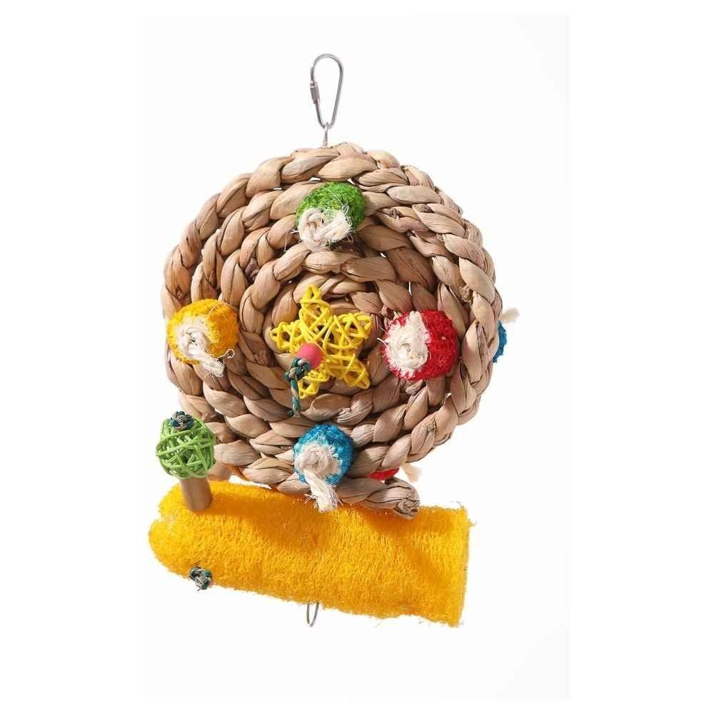 Braid Wheel Toy for Parakeet