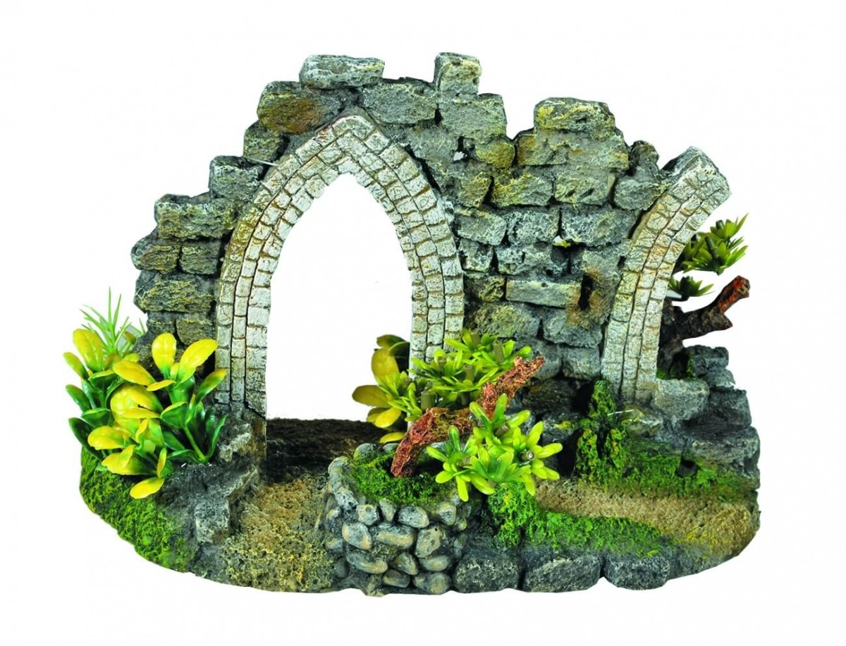 Celtic Door Aquarium Decoration
