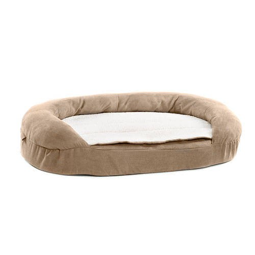 Oval Orthopedic Dog Bed