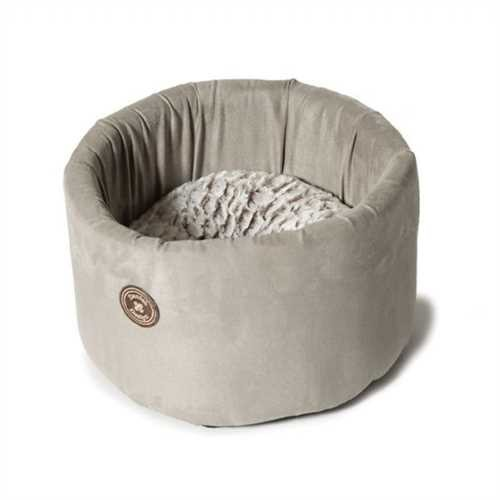 Cosy Gray Cat Bed