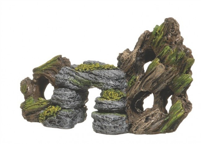 Rock and Bark Decor