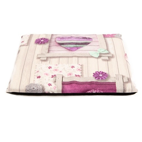 Flowery Pink Double Bed-Cave