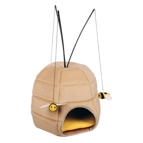 Beehive Cave for Cats with Reeds