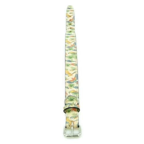 Elegant Tropical Dog Collar
