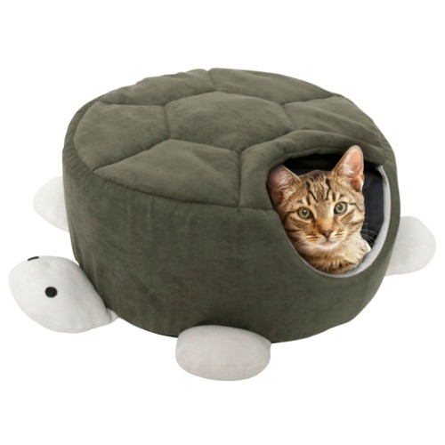Soft and Warm Shelter Turtle Bed
