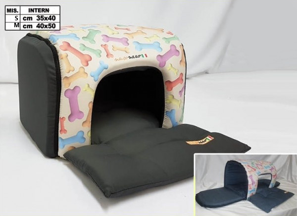 Tunnel-Shaped Dog House