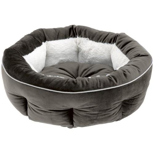 Velvet Round Bed