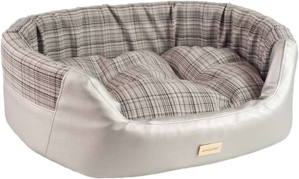 Elegant Ecological Leather Dog Bed