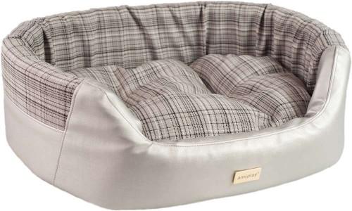 Elegant Ecological Leather Dog Bed