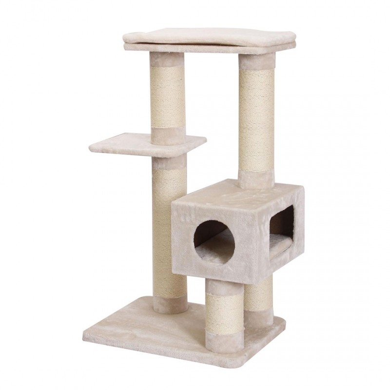 Wooden and Scratching and Climbing Post