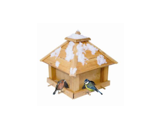 Light Brown Bird House