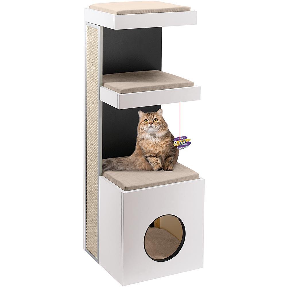 Cat House with Four Floors
