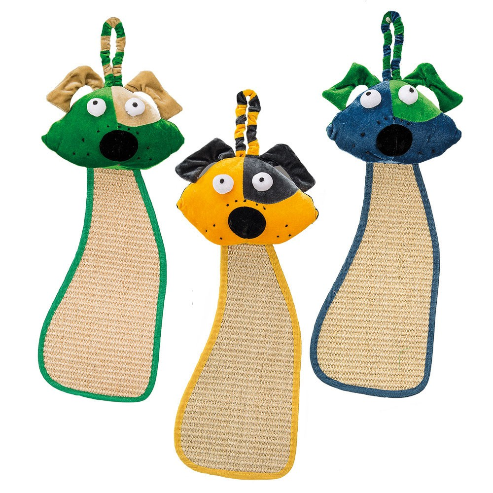Colorful Doggy Sisal Scratching Post