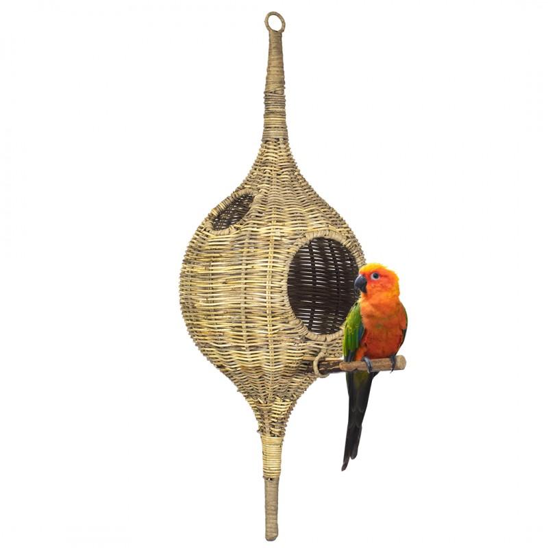 Rattan Birdhouse