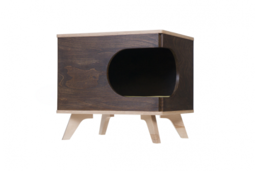 Cat Lodge in the Form of a Nightstand