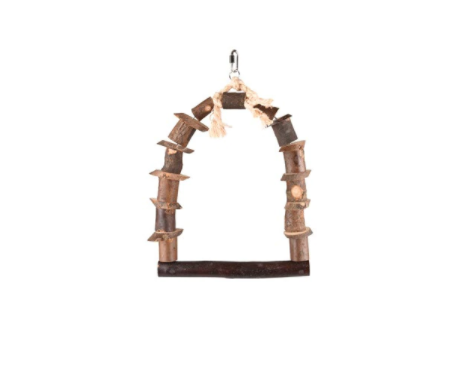 Wooden Swing Toy for Parrots