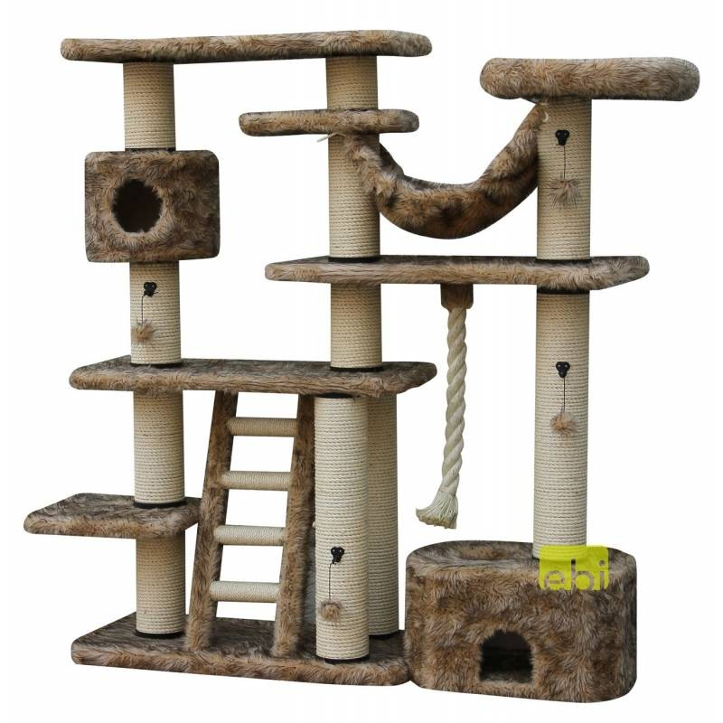 Palace Beige-Brown Scratching Post