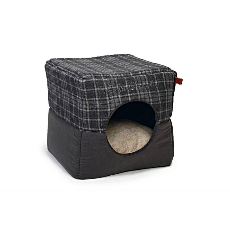 Textile Box Cat House