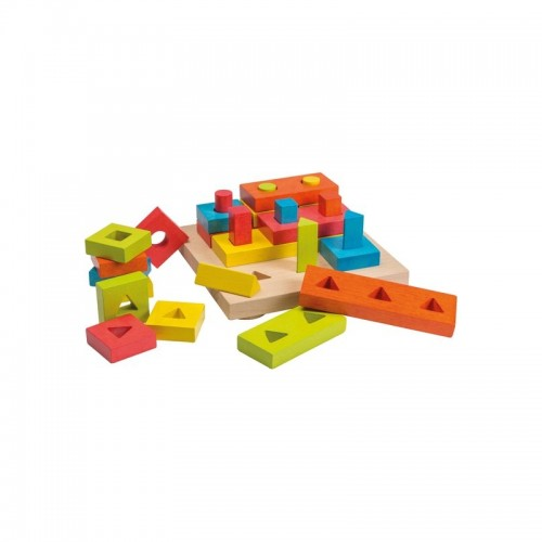 Colorful Puzzle for Birds
