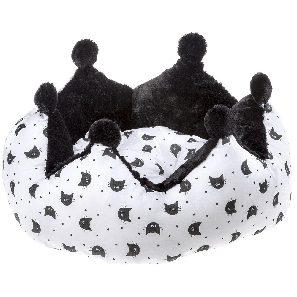 Kitty Crown Cat Bed