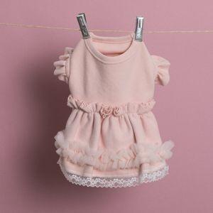 Fluffy Pink Dress