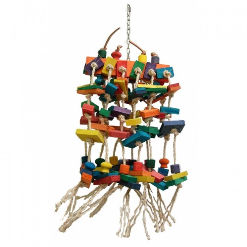 Bird Sisal Toy