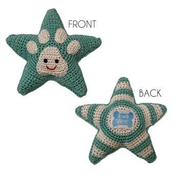 Organic Cotton Star Toy