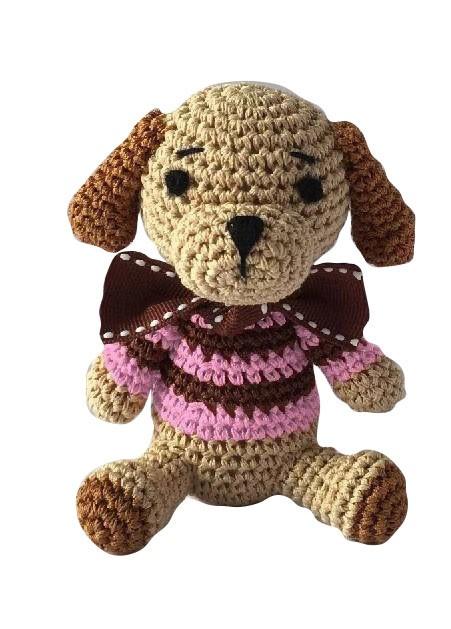Organic Cotton Dog Toy