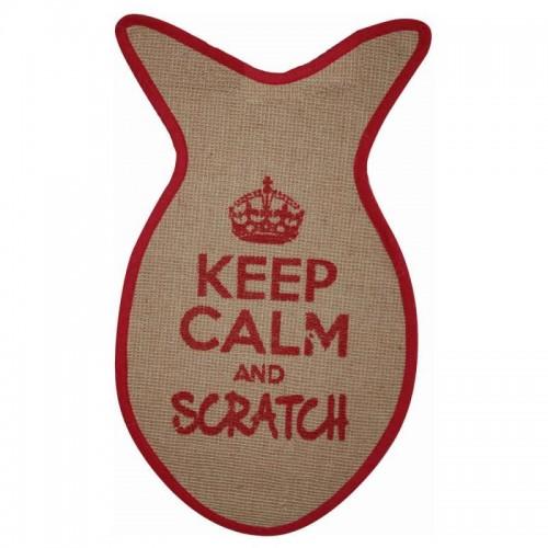 Keep Calm and Scratch Mat