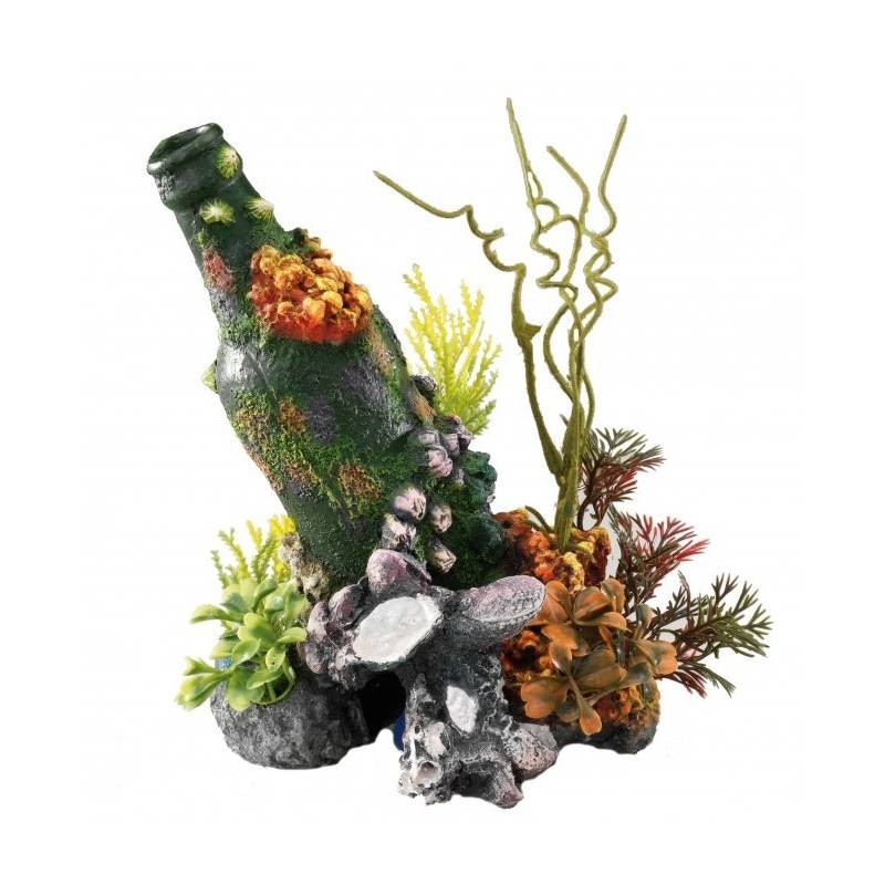 Decoration Coral Bottle