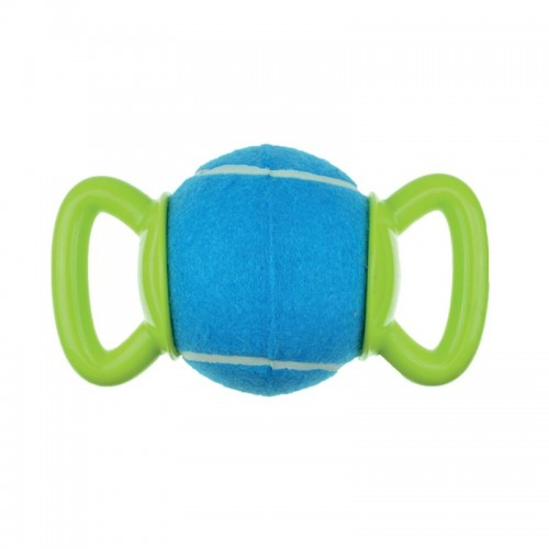 Dog Ball with Double Handle