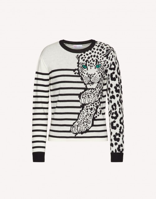 Leo Panther Sweater