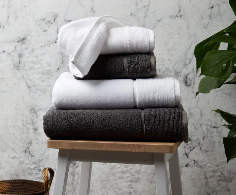 Cotton Bamboo Bath Towels