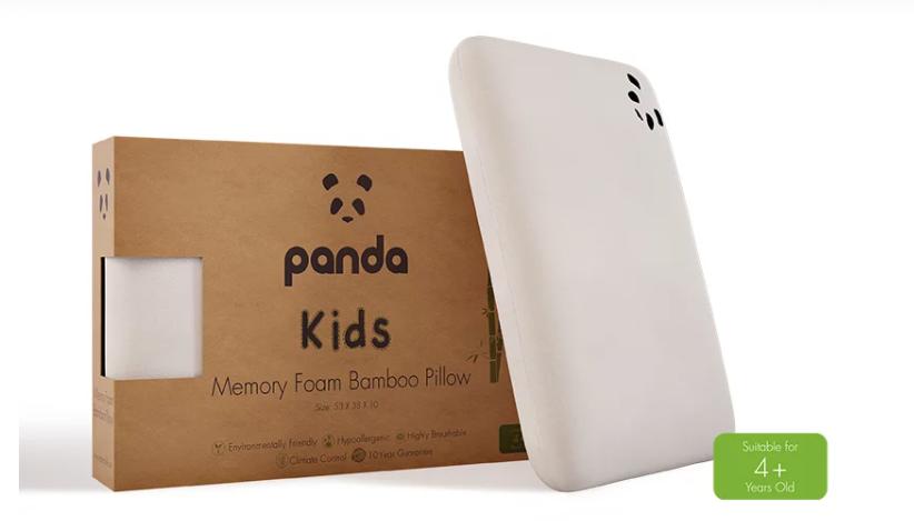 Kids Bamboo Memory Foam Pillow