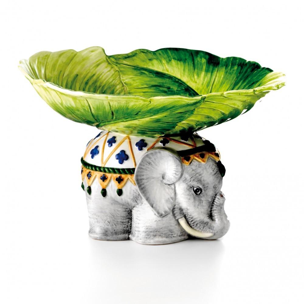 Elephant Ceramic Statue