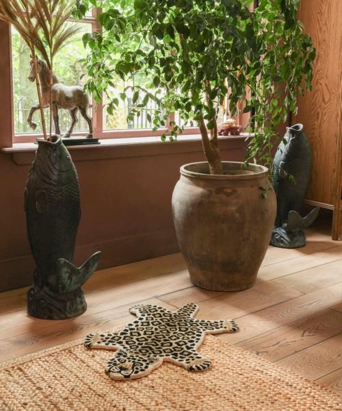 Leopard Wool Rug