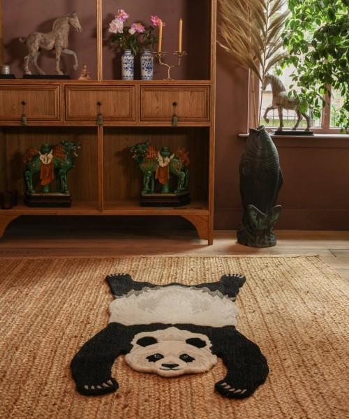 Panda Wool Rug