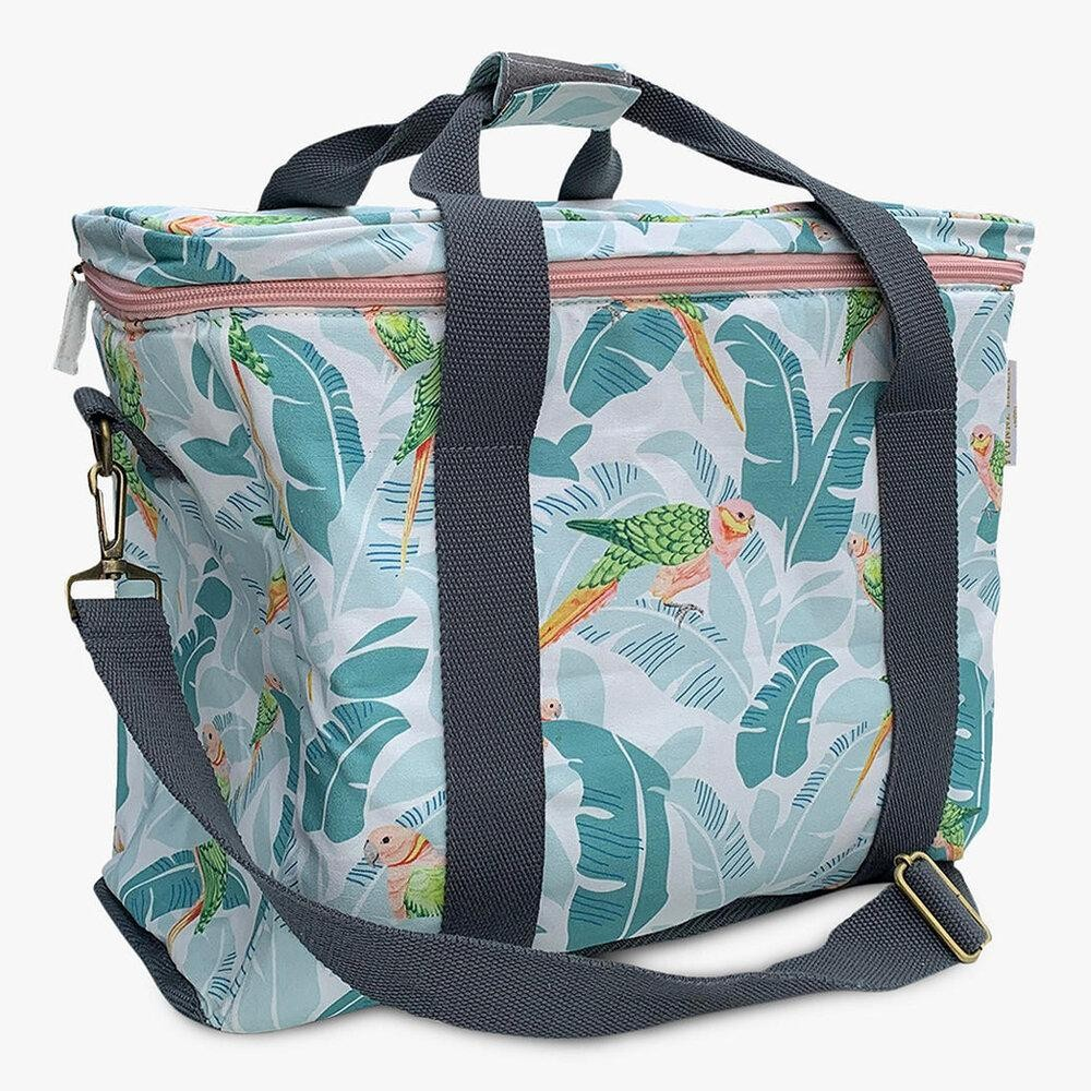 Tropical Birds Picnic Bag