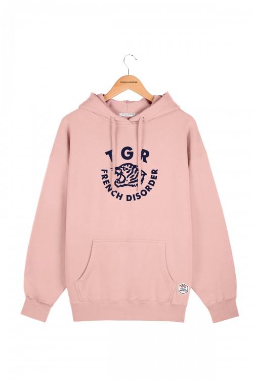 Soft Pink Tiger Hoodie