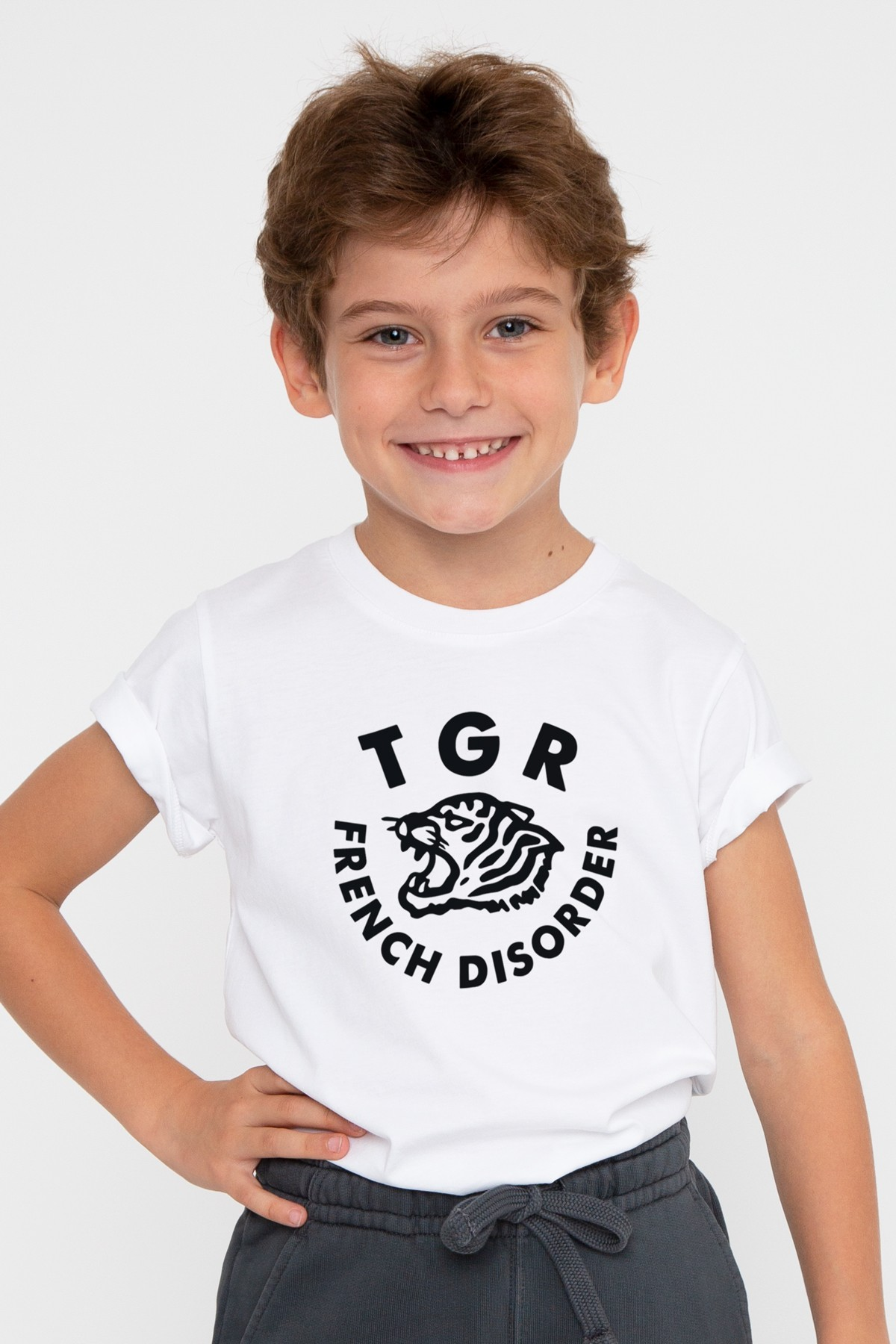 Kids T-shirt Tiger