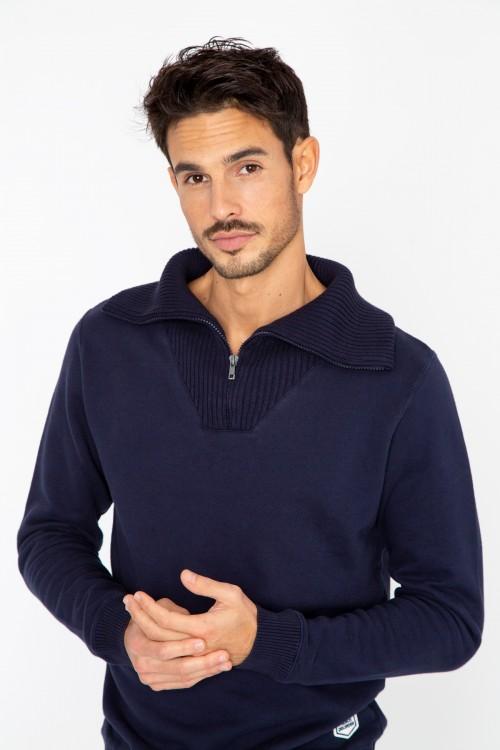 Fleece Trucker Sweatshirt