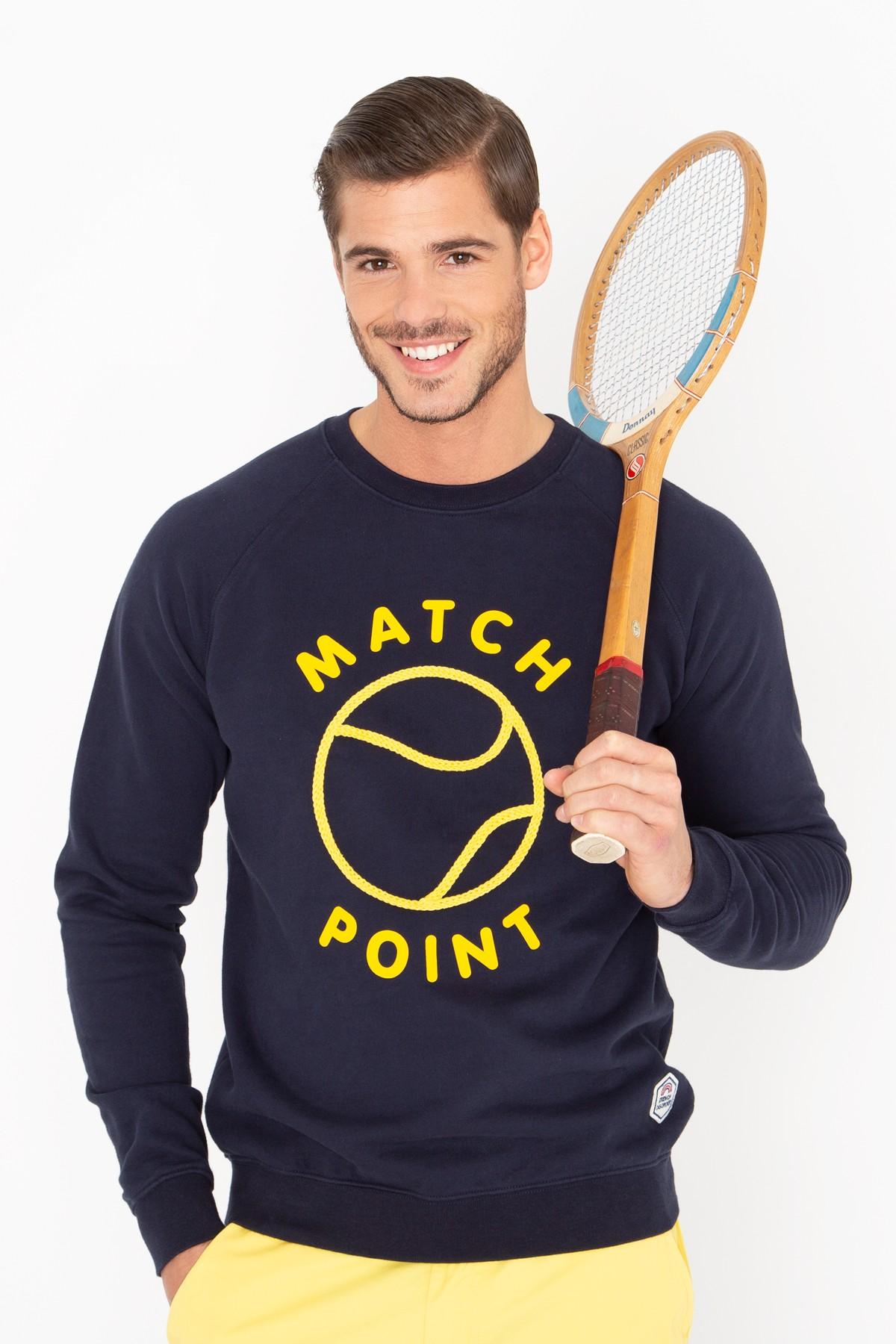 Sweatshirt Match Point