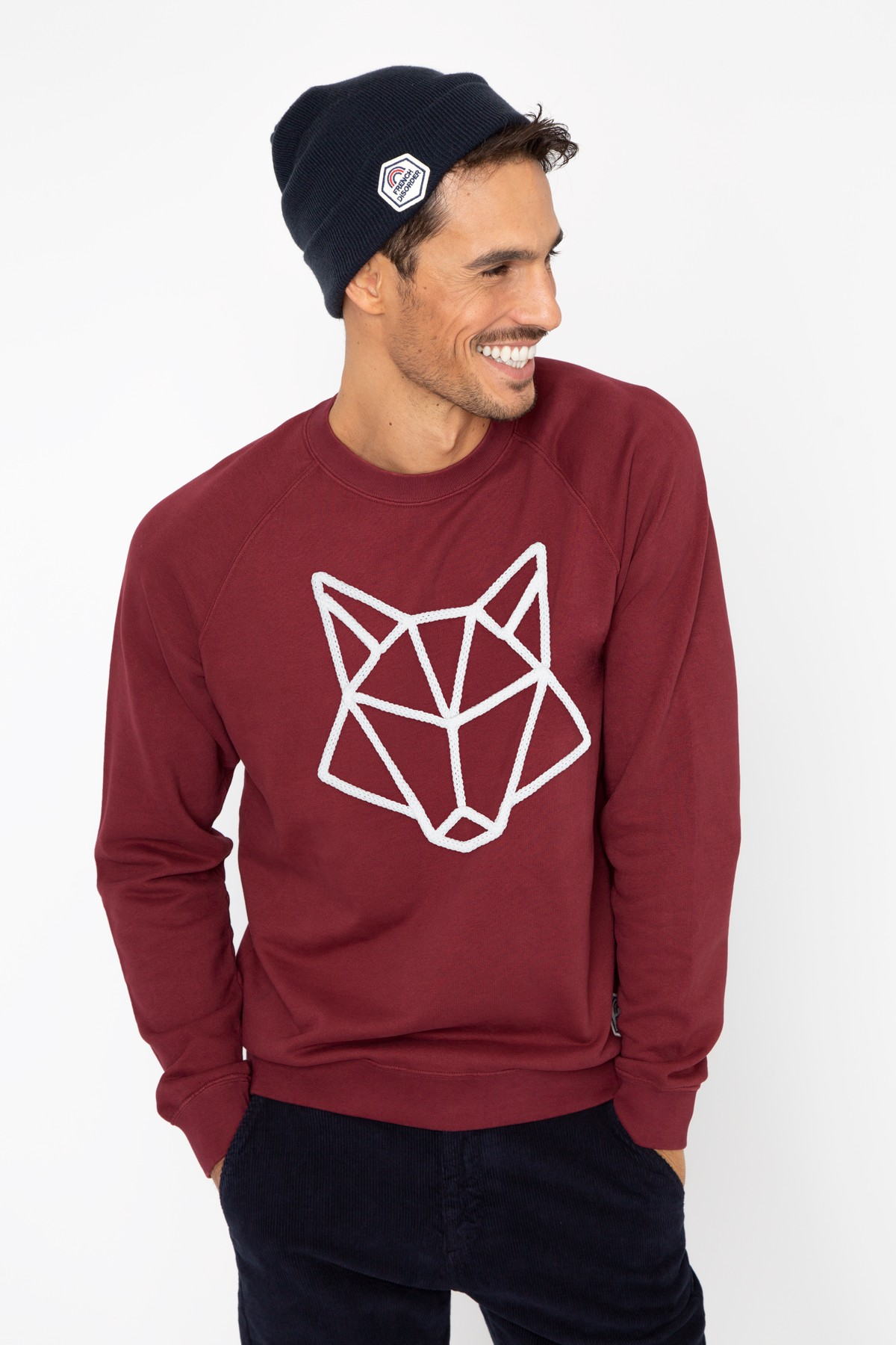 Men's Sweatshirt Wolf