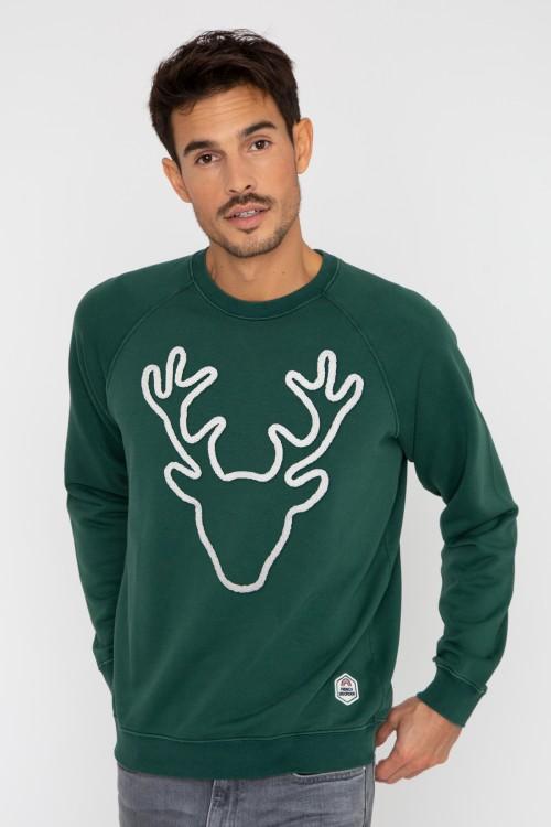 Men's Sweatshirt Rudolph