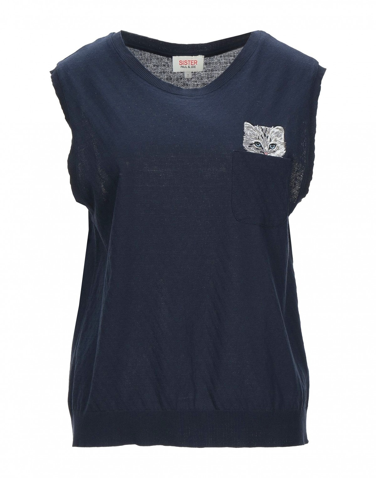 Women's T-shirt with a Cat