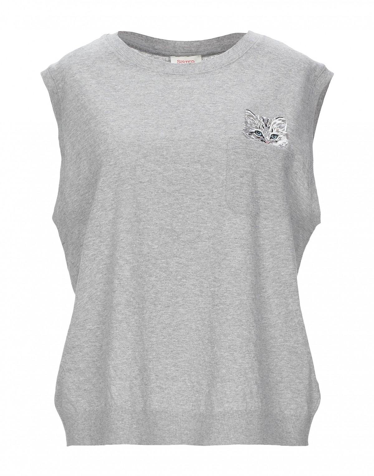 Women's T-shirt with a Cat