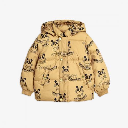 Superb Mozart Panda Puffer Jacket