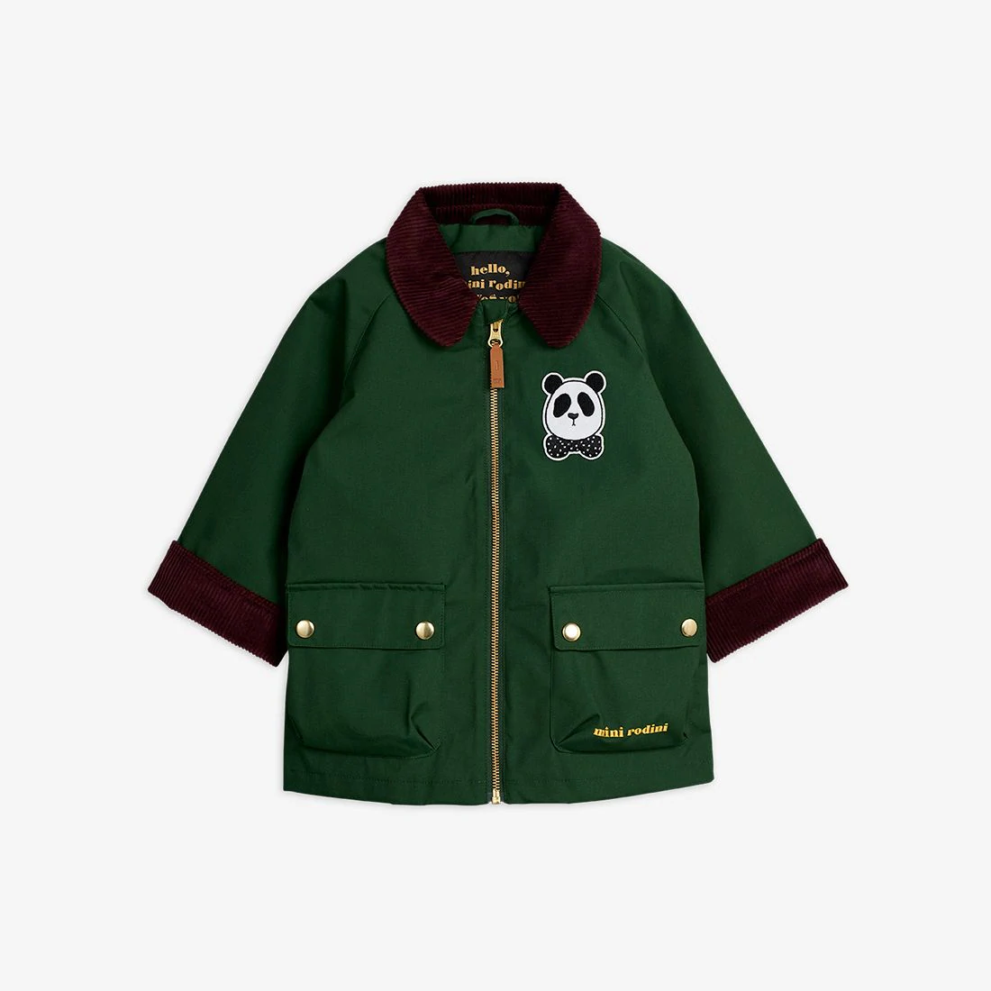 Lovely Green Country Jacket