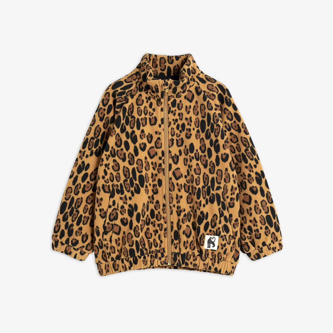 Adorable Leopard Fleece Jacket